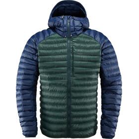 Haglöfs M's Essens Mimic Hood Jacket Mineral/Tarn Blue